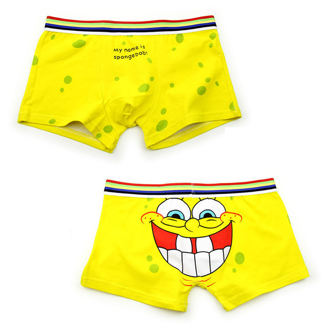 Underwear with fun prints for men