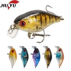 1pcs/lot 45mm 4.2g Swim Fish Fishing Lure Artificial Hard Crank Bait topwater Wobbler Mini Fishing Crankbait lure fishing tackle