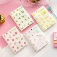 Korean Stationery Notebook A6 Coloring Page Diary Hand Book Weekly Planner Agenda Diary School Offic