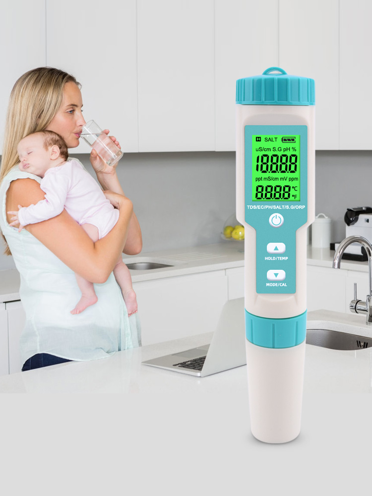 Monitor-Tester Ph-Meter Aquariums Drinking-Water S.-G/temperature-Meter Water-Quality