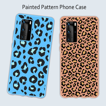Color Spots on the Case for Huawei P30 Pro Lite Nova 5T Ultra Thin Silicone Case for Huawei P20 P40 Pro Lite Back Cover image