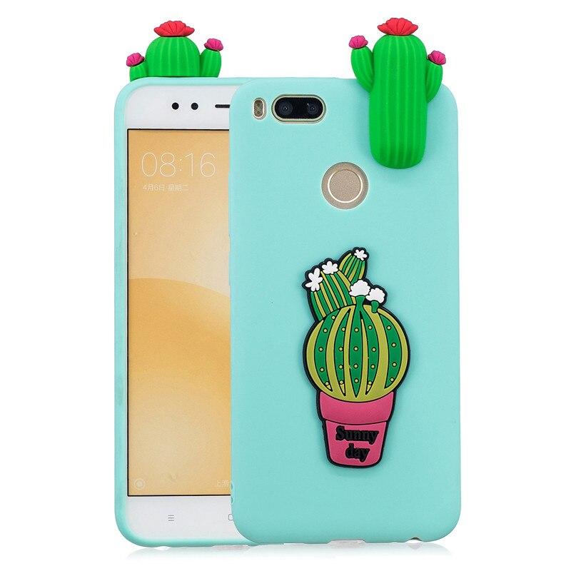 3D Unicorn Panda Cactus Soft TPU Case For Xiaomi Mi A3 A1 A2 Lite Redmi 8 8A Note 9S 8T Note 9 8 7 6 5 Pro 5A 6A 7A 4 4X Go S2