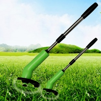 Portable Handheld Grass Cutter Electric Automatic Lawn Mower Cordless Trimmer And Edger String Weed Home Garden Tool