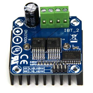 BTS7960 Motor Driver 43A Doubl