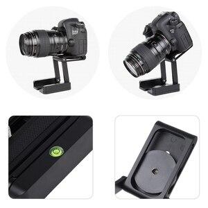 Image 5 - Draagbare Z Type Camera Vouwen Statief Pan Tilt Balhoofd Desktop Stand Houder