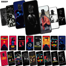 Q14 The Weeknd TPU Phone Cover for Samsung Galaxy S6 S7 Eege S8 S9 S10 Plus S10e Soft Case