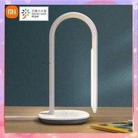 Xiaomi-lámpara de mesa Philips, luz de lectura inteligente, 3 LED, 10 niveles de atenuación táctil, para escritorio, cabecera, Sensor de luz ambiental, App Mijia