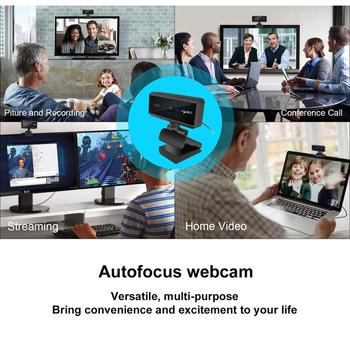 USB Webcam HD 1080P Built-in Microphone Auto Focus High-end Video Call Computer Peripheral Web Camera for PC Laptop 3