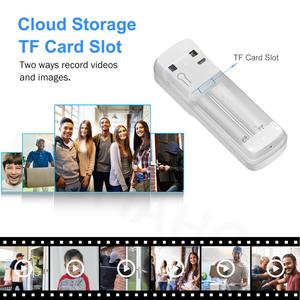 Image 4 - Timbre de puerta inalámbrico para exteriores dispositivo de comunicación con WIFI, resolución de 1080P, Monitor de seguridad inteligente para el hogar, visión nocturna IR, resolución de 720P