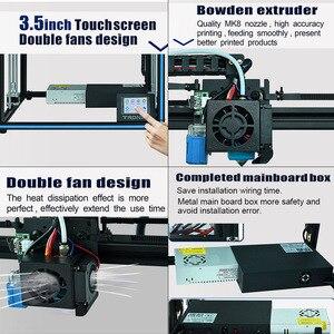 Image 5 - Nouvelle Tronxy X5SA/X5SA 400 imprimante 3D, modèle mis à niveau, haute précision, dimensions Kit de bricolage, 400x400x400mm, reprise dimpression, nivellement automatique