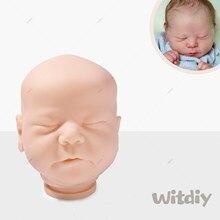 Witdiy perseguição 50cm kit reborn boneca do bebê sem pintura kit reborn lifelike kit reborn boneca kit peças em branco