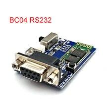 Placa adaptadora serie RS232 Bluetooth Módulo de perfil de puerto serie, comunicación Master Slave 2 modos 5V Mini USB Bluetooth