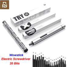 Original Youpin Wowstick Try 20 in 1 Electric Screw Driver Cordless Power work with  smart home kit