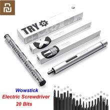 Original Youpin Wowstick Versuchen 20 in 1 Elektrische Schraube Fahrer Cordless Power arbeit mit smart home kit