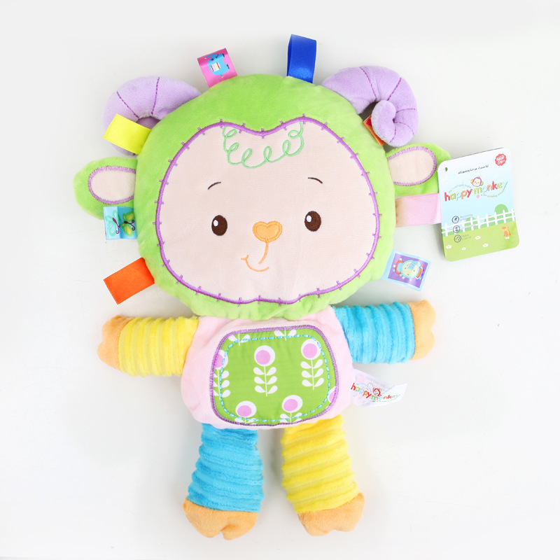 Toys & Hobbies ... Stuffed Animals & Plush ... 32328553748 ... 5 ... 8 Styles Baby Toys Plush Rattles Cute Stuffed Animal Infant Educational Learning Toys Gift for Toddler Children 0-12 month WJ199 ...