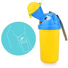 Portable Reusable Kids Potty Urinal Emergency Toilet Training Pee Collapsible Car Pee Pot Potty Urinal Bottle  For Boys & Girls