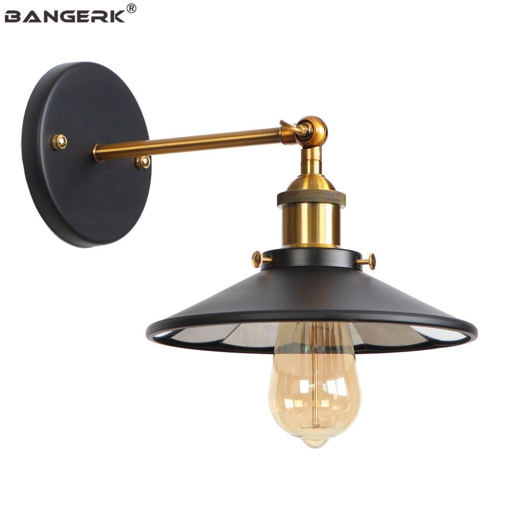 VINTAGE LOFT nouvelle Moderne Rétro Industriel Rustique Appliques Murale Lampe Chambre à coucher