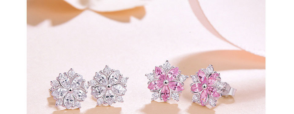 Hfe4d4edd4c5042db84f6d01d632e3ba5l - WEGARASTI Silver 925 Jewelry Earrings Woman Pink Cherry Earring 925 Sterling Silver Earrings Wedding Earring