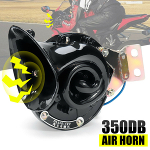 Super Loud 300DB 12V 24V Electric Car Air Snail Bull Horn Raging Sound Car Styling Loud For Auto Vehicle Motorcycle Truck Boat