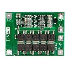 小売3s 40A 18650リチウムイオンリチウム電池充電器保護ボードpcb bmsドリルモータ11.1v 12.6vリポ電池モジュール