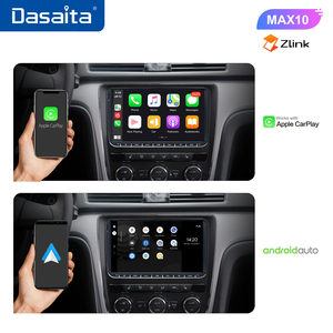 "Image 4 - Dasaita 9"" IPS Screen 1 Din Car Radio Android 10 Carplay for VW GPS Polo Golf Eos Tiguan Seat leon Passat Car Stereo TDA7850"