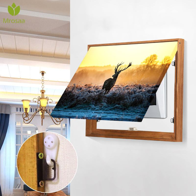 Hot Sale Electric Meter Box Decorative Painting Power Box Cover Switch Box Hide Paintings Wall Decoration Canvas Poster Painting