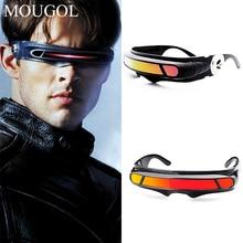 MOUGOL X-man laser Cyclops sunglasses designer Special Memory materials Polarized Travel Shield Cool Sunglasses UV400 PC K40021
