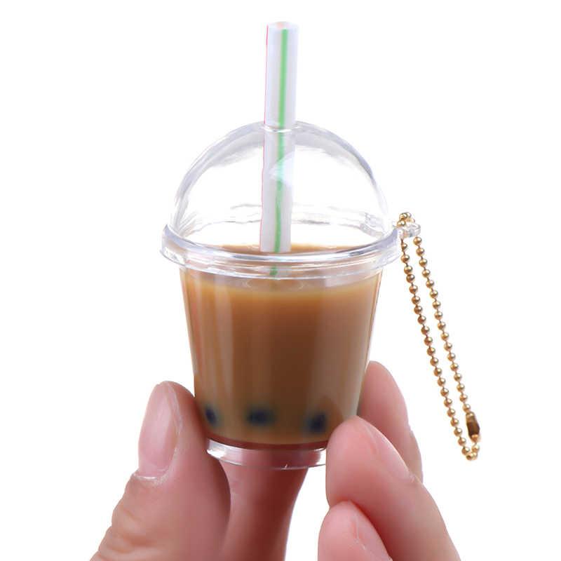1x domek dla lalek Mini perła herbata mleczna kubek wody miniaturowe akcesoria dla lalek kubki zabawki Mini dekoracje na prezenty