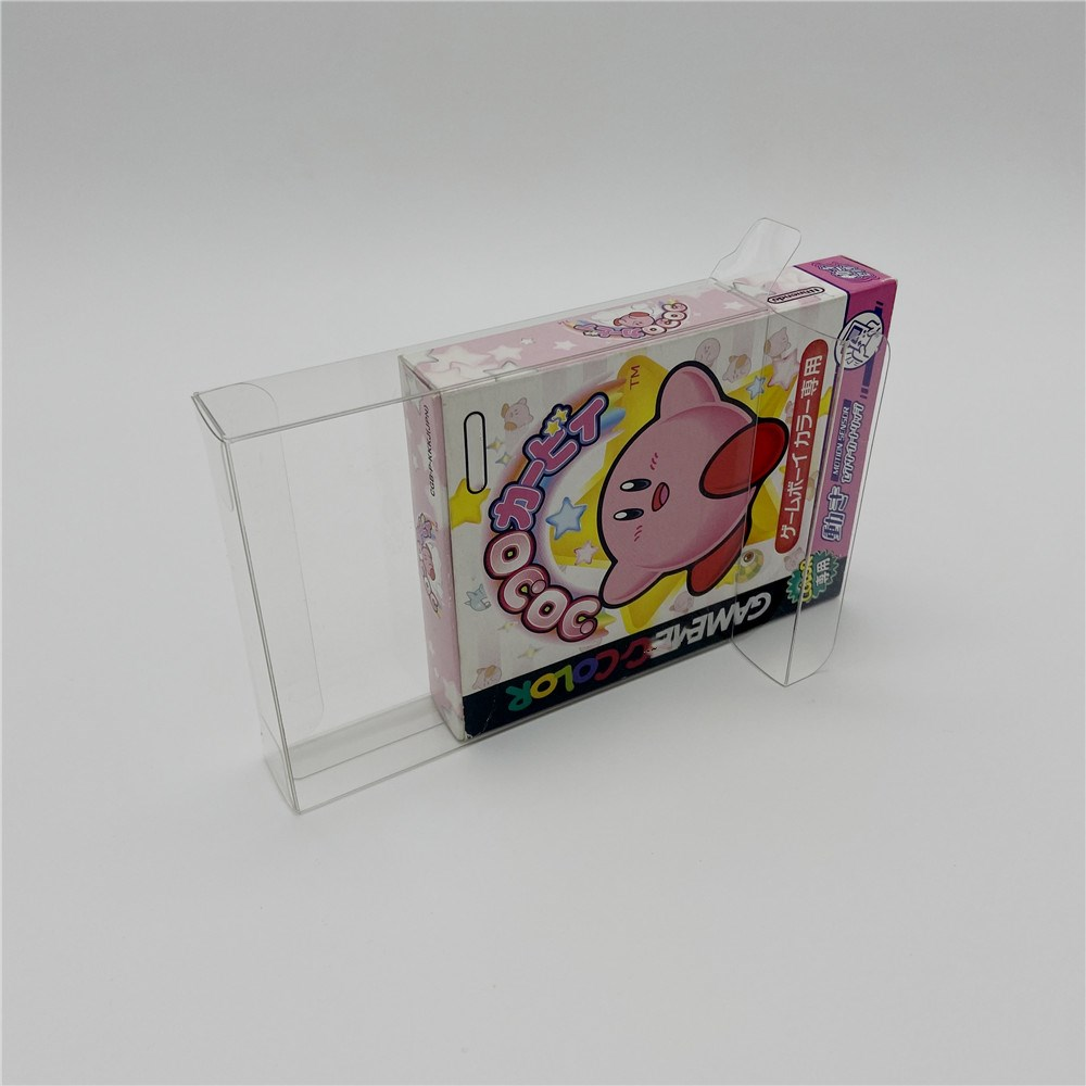Collection box display box protection box storage box is suitable for Japanese <font><b>Gameboy</b></font> <font><b>COLOR</b></font> GBC <font><b>Games</b></font> image