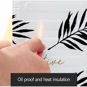 Image 5 - Aluminum Foldable Kitchen Gas Stove Baffle Plate Kitchen Frying Pan Oil Splash Protection Screen Kichen Accessories