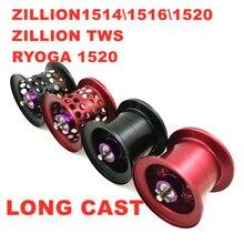 DIY Long Cast Fishing reel spool for daiwa ZILLION1514\1516\1520\ZILLION TWS RYOGA 1520 lightweight fishing reel spool