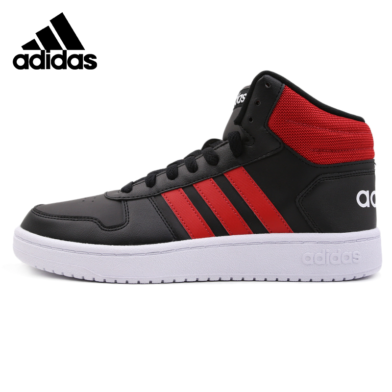 Original Adidas HOOPS 2.0 MID Mens Skateboarding Shoes Sneakers Outdoors Sports