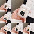 Забавный мультяшный прозрачный чехол Draco Malfoy для наушников Apple Airpods 1/2 3 Ударопрочный силиконовый защитный чехол для наушников Аксессуары