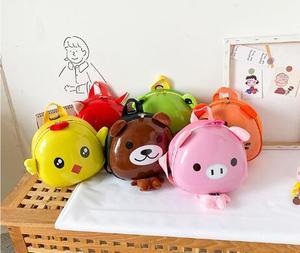 Школьная сумка с мультипликационным принтом для начальной школы, Жесткая Сумка для детского сада, Детский рюкзак, маленькая школьная сумка, Детская сумка с баклажанами