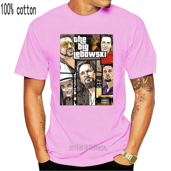 2020 New Fashion Brand Clothing The Big Lebowski Inspired T-Shirt 100% Cotton The Dude Coen Brothers Jeffrey T shirt image