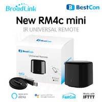 2019 RM4C Mini Broadlink Bestcon télécommande intelligente WiFi IR travail avec Alexa Google maison Mini domotique intelligente