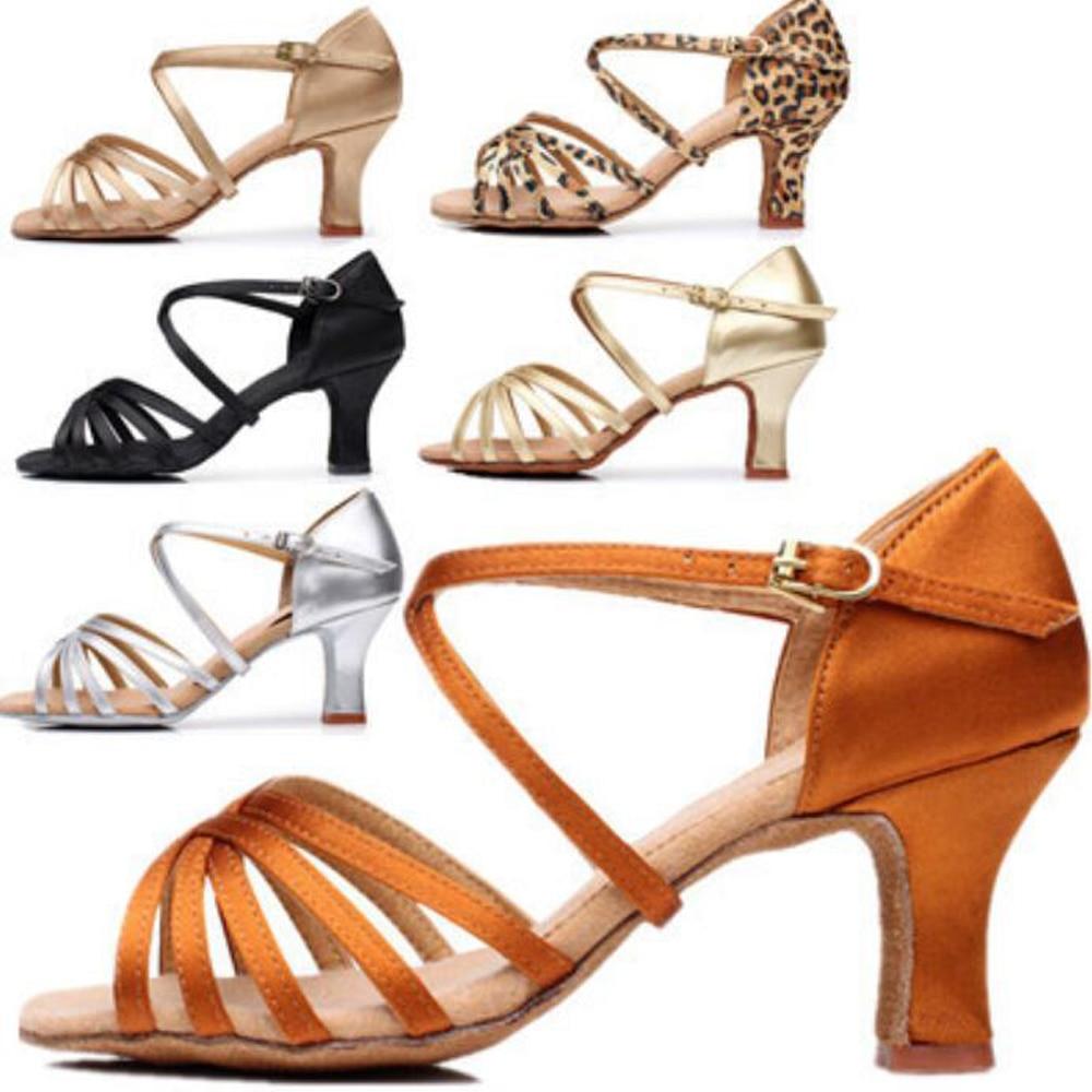 Woman Latin Dance Shoes Ladies Girls Sneaker Dancing Shoes For Women Jazz Ballroom Salsa Dance Shoes 6 Colors About 5cm/7cm A01D