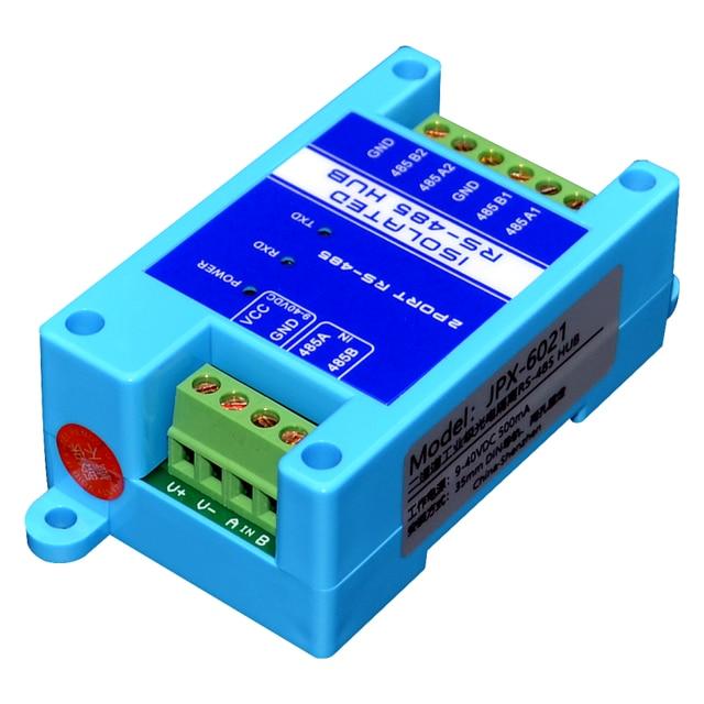 485 repeater izolacja fotoelektryczna klasy przemysłowej RS485 hub 2 port wzmacniacz sygnału zwalczania zakłóceń ochrony odgromowej