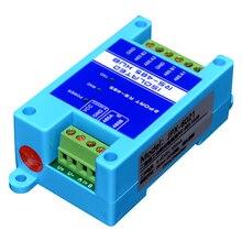 Repetidor 485 aislamiento fotoeléctrico grado industrial RS485 hub amplificador de señal de 2 puertos protección contra rayos antiinterferencias