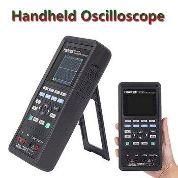 Generador de onda Hantek + multímetro Digital + osciloscopio portátil 3 en 1 USB 2 canales 40mhz 70mhz mejor Kit de prueba