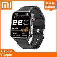Xiaomi-reloj inteligente deportivo resistente al agua, pulsera con control del ritmo cardíaco y de la presión sanguínea, Bluetooth