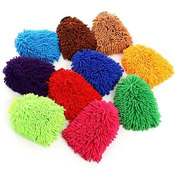 Dwustronne chenille myjnia samochodowa rękawiczki wełniane czyszczenie samochodu rękawice do mycia samochodów narzędzia do mycia samochodów materiały samochodowe tanie i dobre opinie CN (pochodzenie) JD1649901-7 Other polyester fiber (polyester) Superfine fiber 14*23*2 5 cm