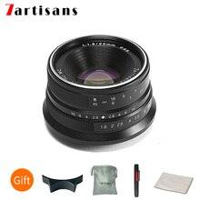 Objectif principal 25mm f1.8 pour toutes les séries individuelles, pour Sony E Mount Canon EOS M Micro 4/3 caméras FUJI A7 A7II A7R A7RII