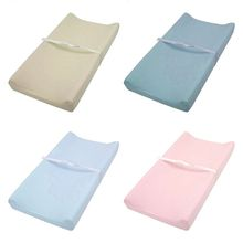 Soft Breathable Cotton Baby Changing Mat Reusable Changing Table Pad Cover for Infants Boys Girls Shower Gift