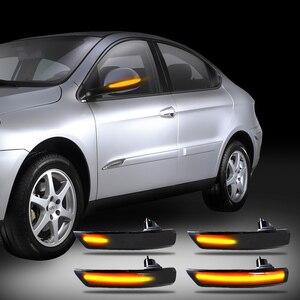Image 2 - 12V 깜박이는 LED 자동차 방향 지시등 리어 뷰 미러 램프 깜빡이 포드 포커스 Mk2 Mk3 Mondeo Mk4 용 동적 자동차 액세서리