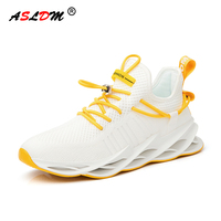 2020 New Breathable Man Sports Shoes Fashion Sneakers Male Walking Tie Shoelace Blade Men Casual Shoes