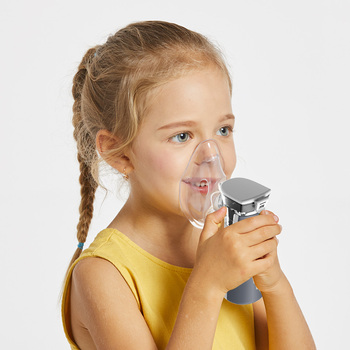 Yongrow Newest Medical Nebulizer Handheld Asthma Inhaler Atomizer for children health care usb  mini Portable Nebulizer 2