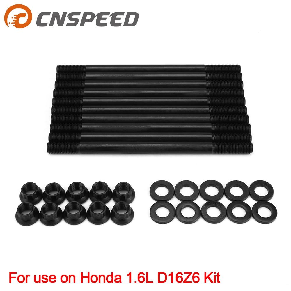 Cylinder Head Bolts Fits 88-95 Honda Civic 1.5L 1.6L D15B2 D15B7 D16A6 D16Z6