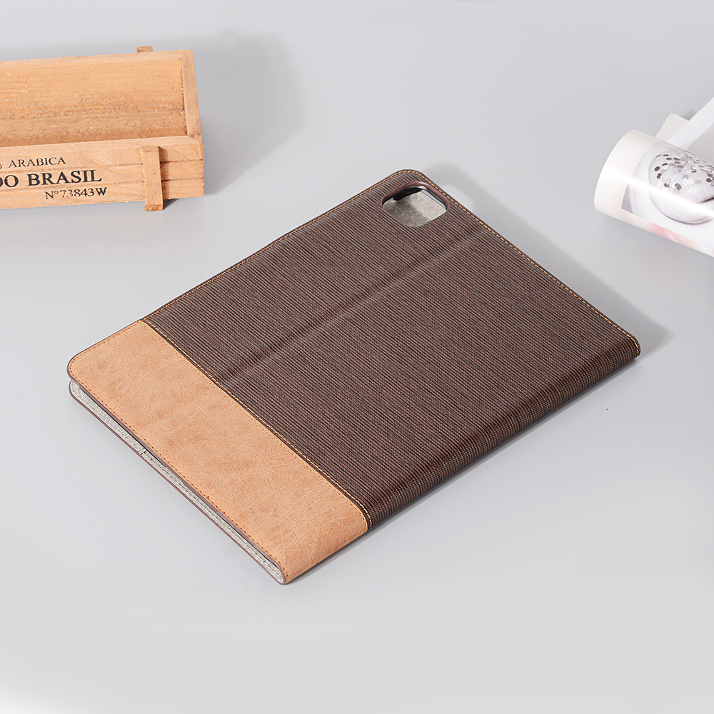 Cover For iPad iPad 2020 PU Business 12 9 Back For 2020 Series Tablet Pro Case Brown Pro