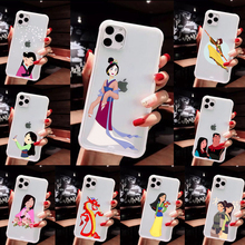 Cartoon Mulan Anime Soft TPU Phone Accessories Soft silicone TPU For ip